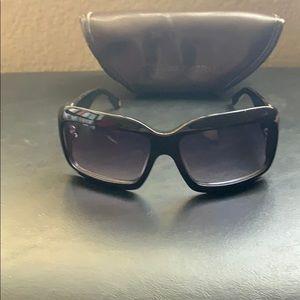 Black BCBGMAXAZRIA Sunglasses
